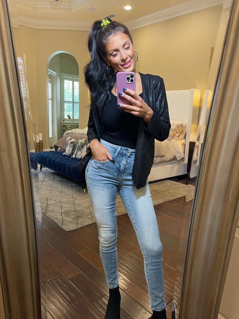 Judy Blue All In The Details High Rise Skinny Denim