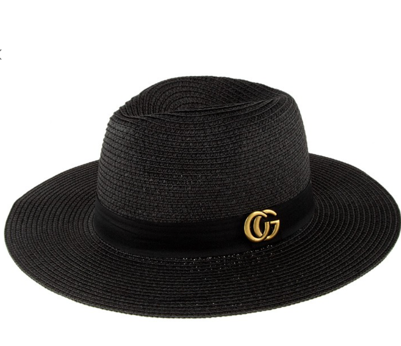 Straw Hat - 3 Colors!