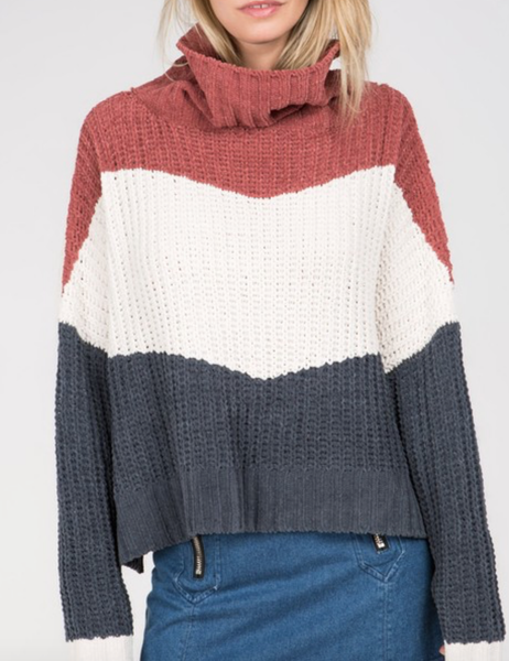 USA All Day Turtle Neck Sweater