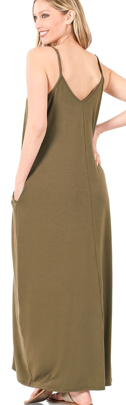 Ready For The Show Maxi Dress - 4 Colors!