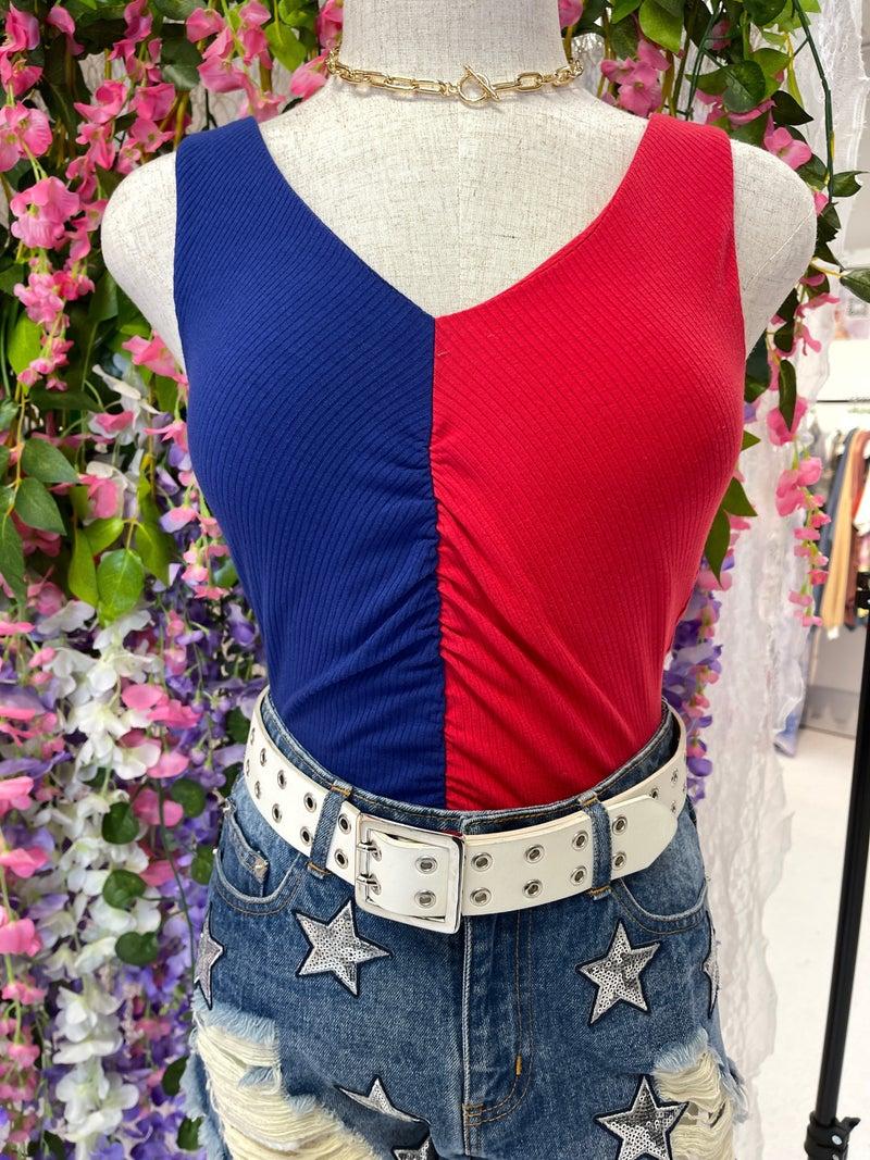 Color Block Bodysuit