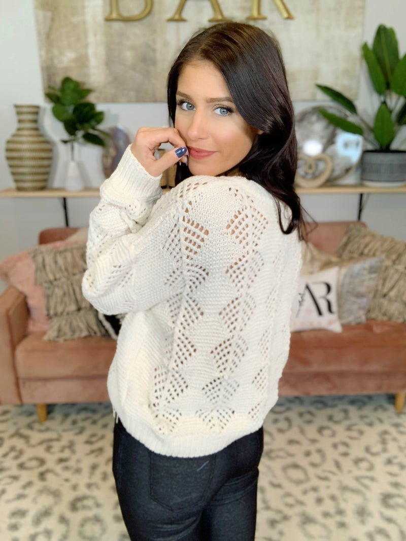 Early Bird Gets The Worm Sweater - 2 Colors!