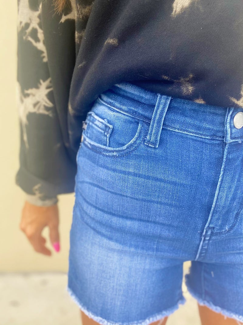 Judy Blue Style With Class Denim Shorts