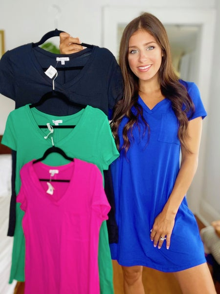 Picture Perfect Dress - 4 Colors!