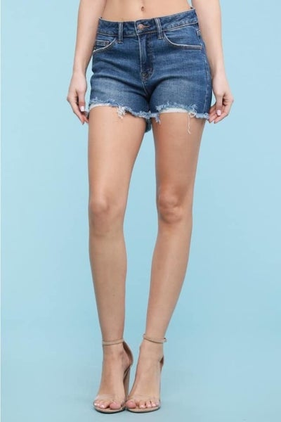Judy Blue Lauren Cutoff Shorts