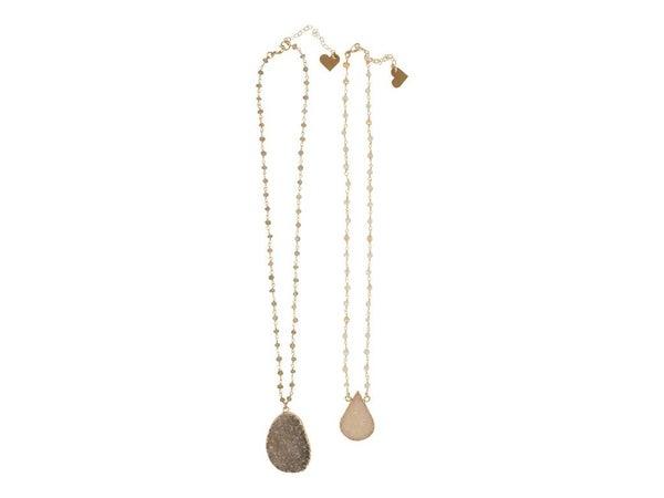 Rosary Druzy Necklace