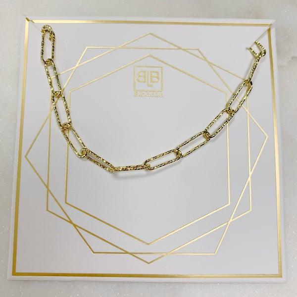 BB Lila Glimmer Necklace