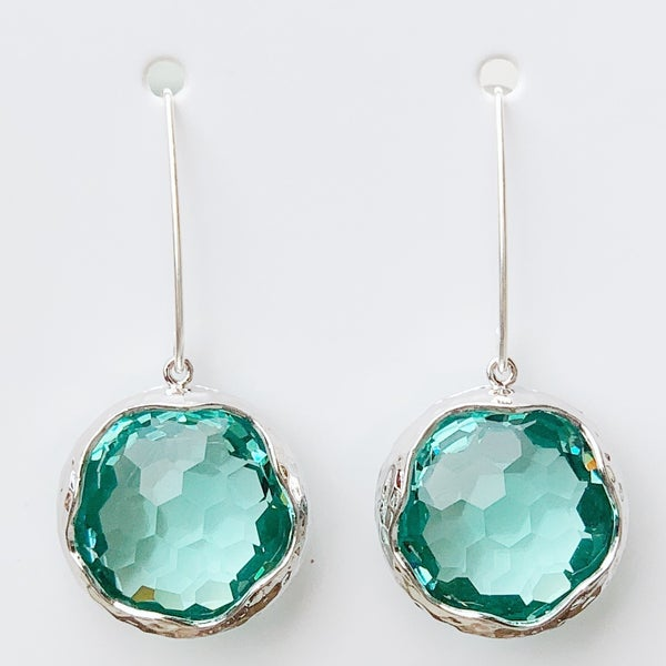 Erinite Shine Bright Drop Gem Earrings