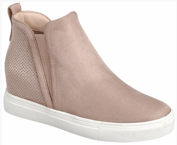 Tyson Wedge Sneaker - Blush
