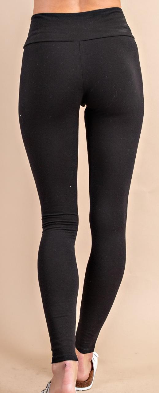Solid Comfort Leggings