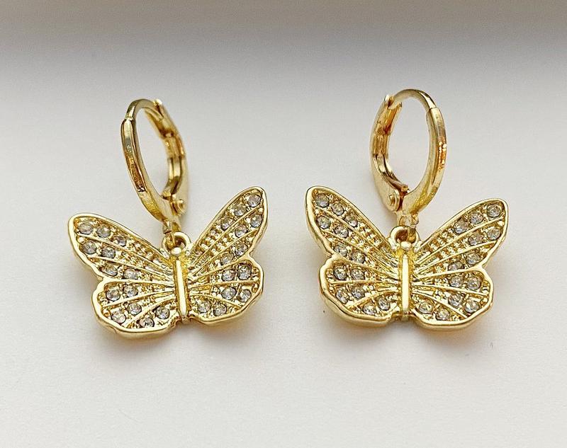Mary Kathryn Butterfly Huggies
