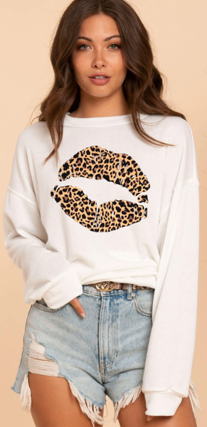 Kitty Lips Top - 2 Colors!