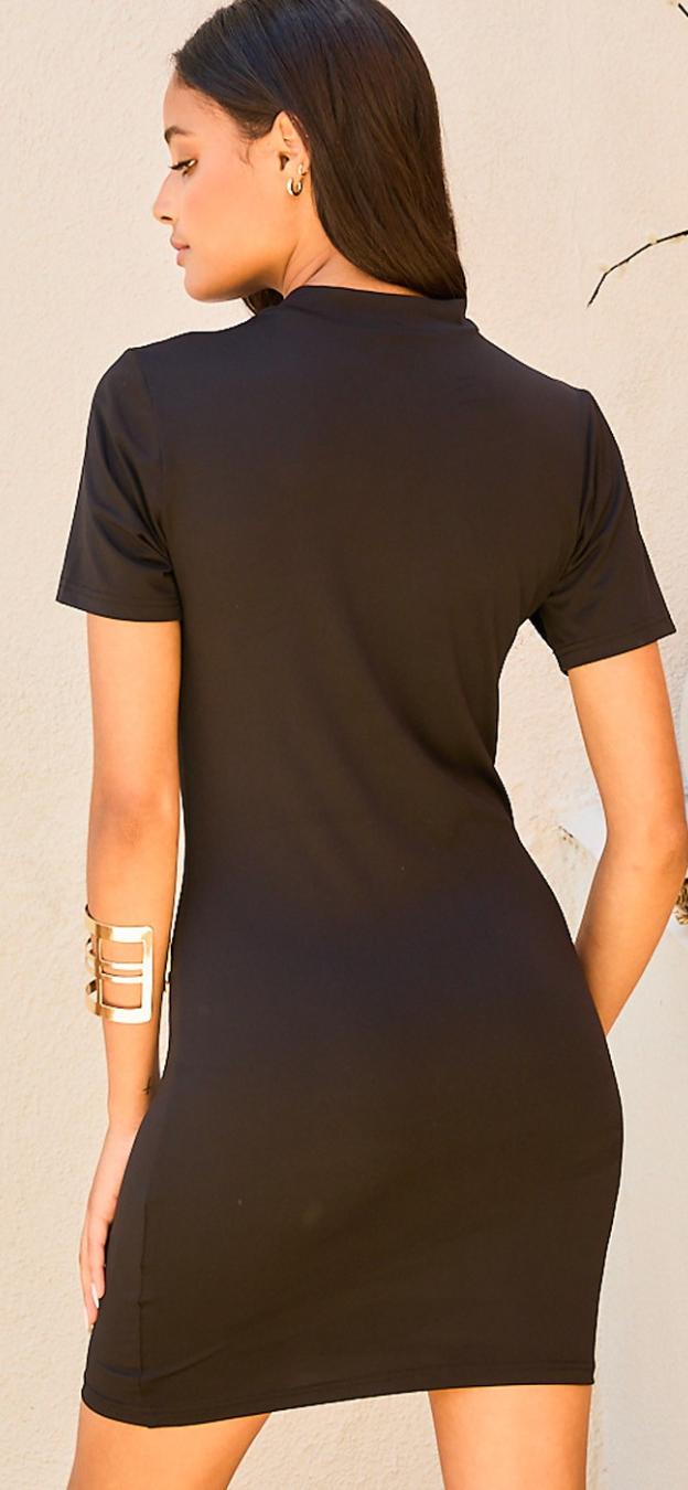 Sleek Peek Dress