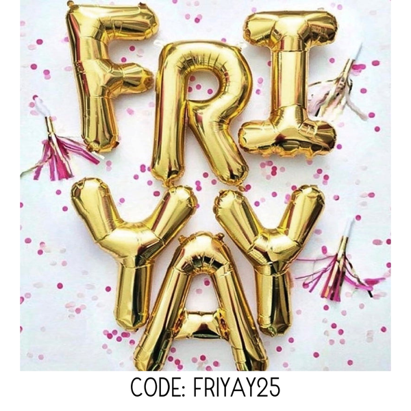 Use code FRIYAY25 for 25% off SALE section