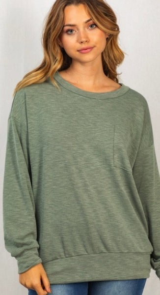Weave In Weave Out Top - 5 Colors!