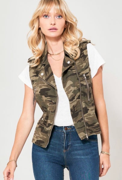 Lady In Charge Camo Vest