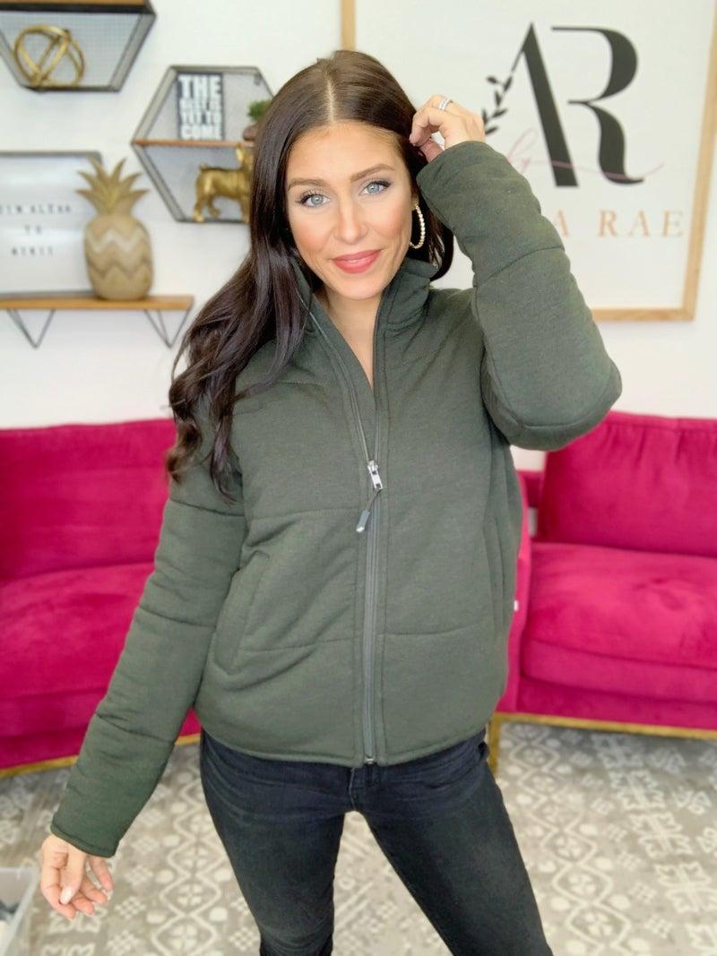 Brenna Jacket -2 Colors!