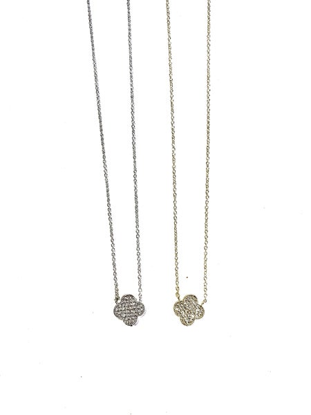 Simplicity Is Key Necklace - 2 Colors!