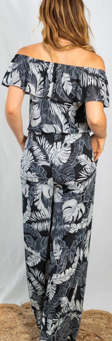 Turning A New Leaf Jumpsuit