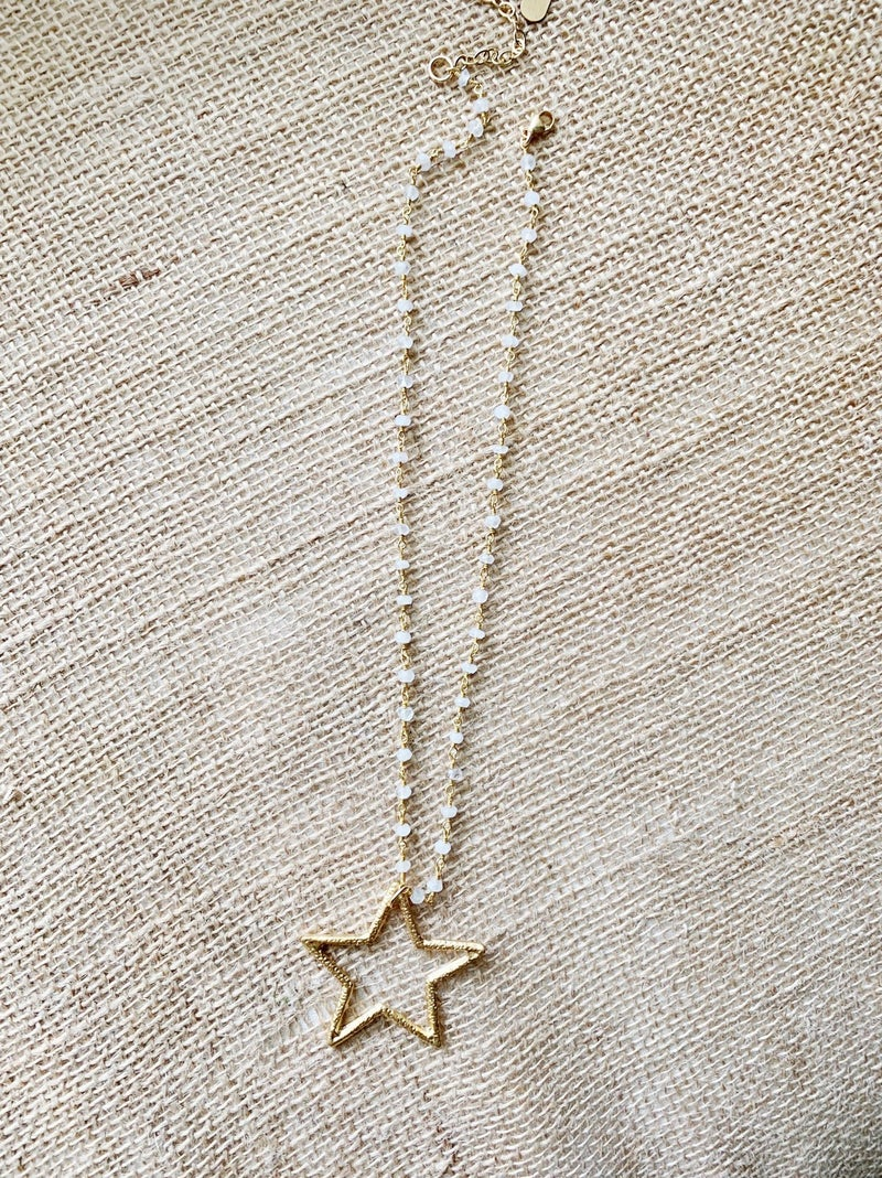 Star Rosary Necklace