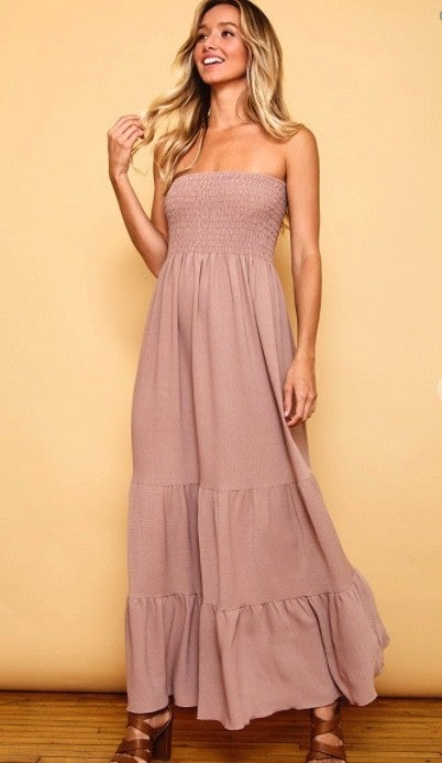 Tiers Of Happiness Dress- 2 Colors!