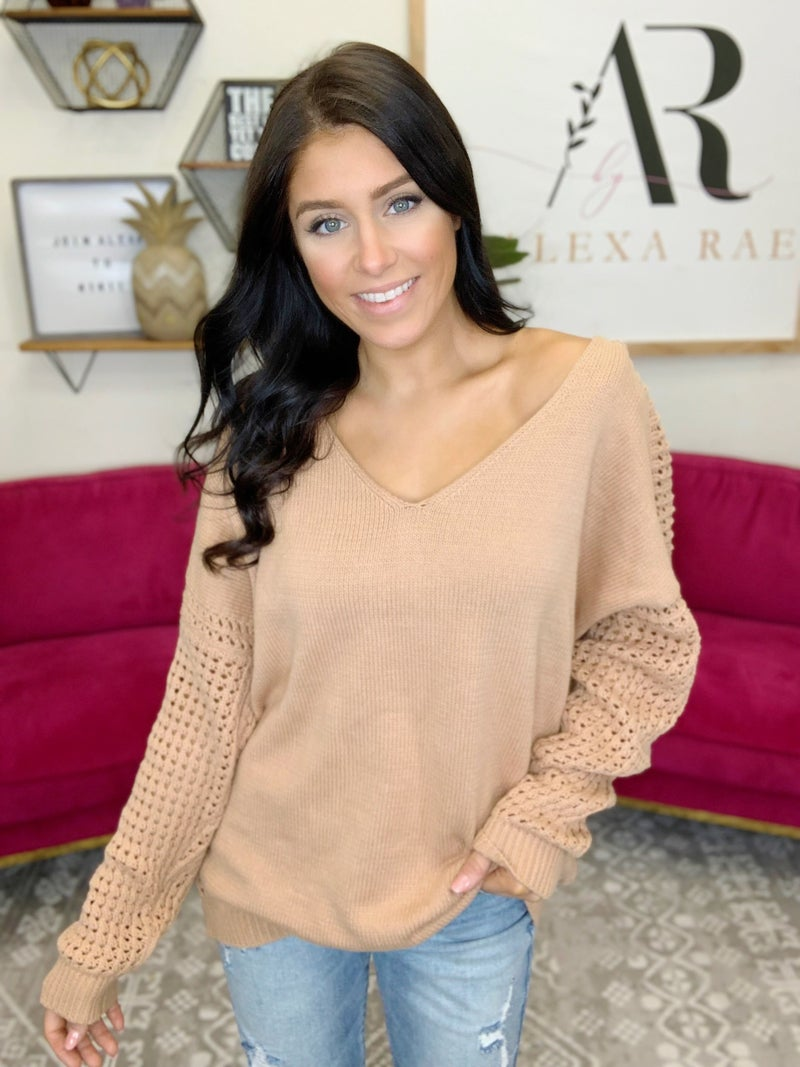 Super Natural Vibes Sweater - 2 Colors!