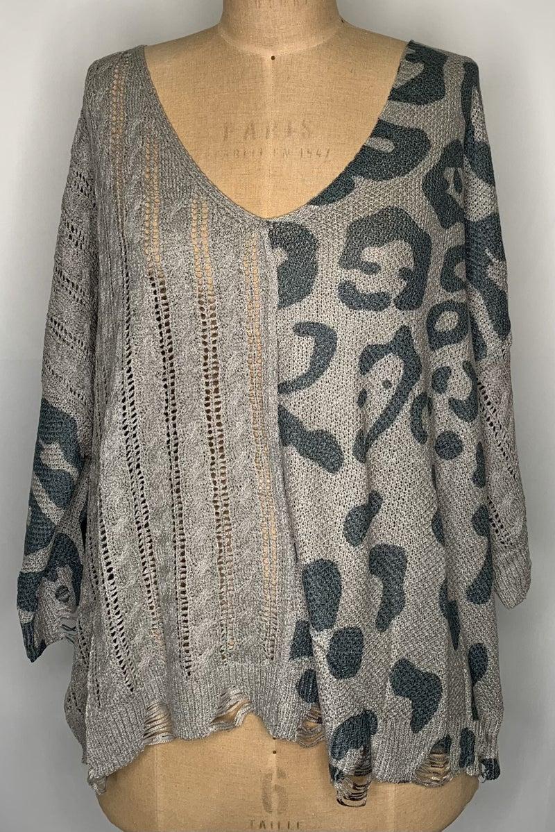 Leo & Weave Sweater - 2 Colors!