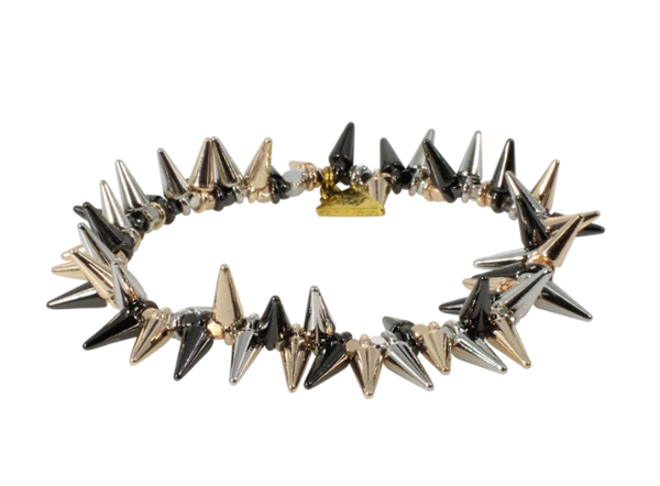 Erimish Tri Color Spike Bracelet