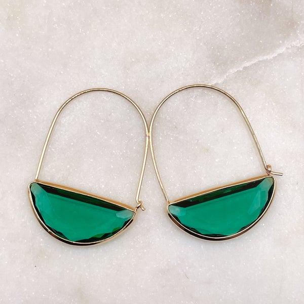By Alexa Rae Belle Earrings - Gold