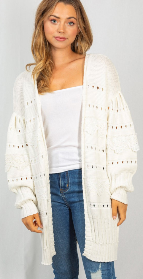 Flawless By Design Cardigan - 2 Colors!