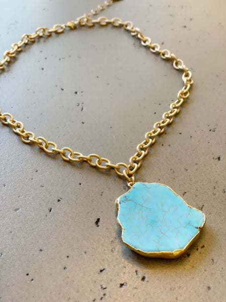 Peace Of Mind Turquoise Necklace
