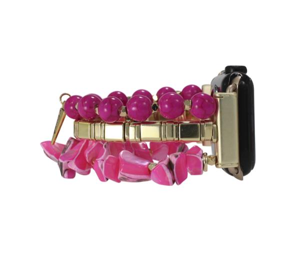 Erimish Sunshine Apple Watch Band - Hot Pink