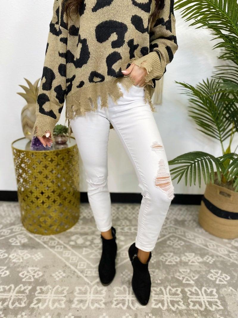 Vervet Optic White Skinny Jeans