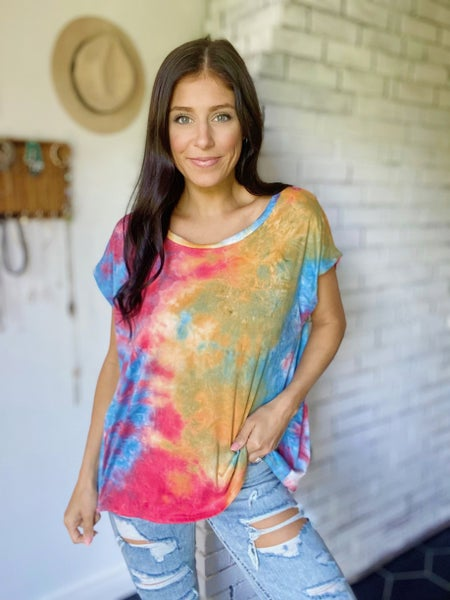Watch Me Bloom Top - 2 Colors!