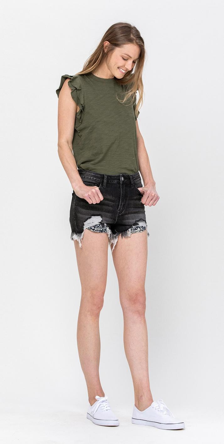 Laurie Denim Shorts