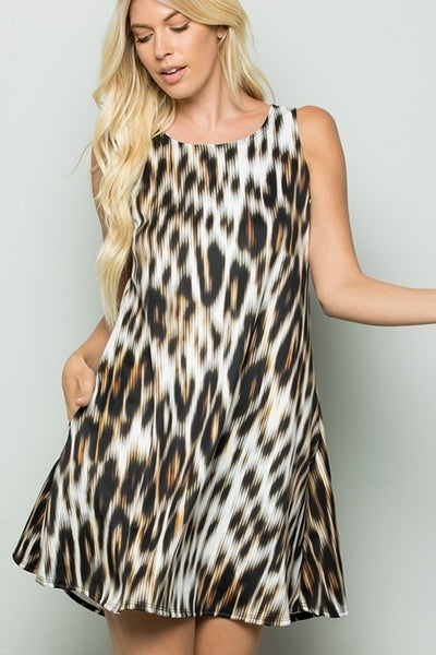 Wild About You Swing Dress