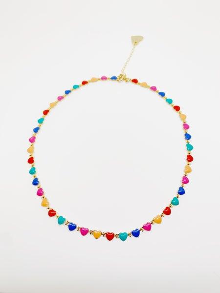 Bubblegum Heart Necklace