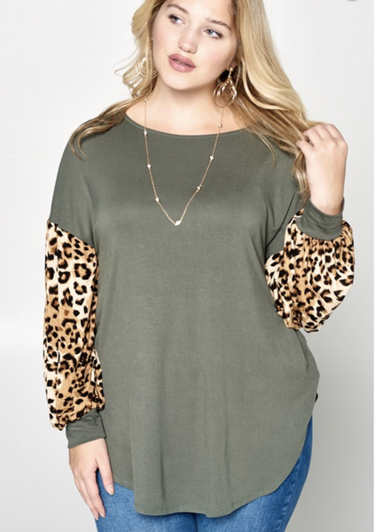 Cat Walk Tunic Top