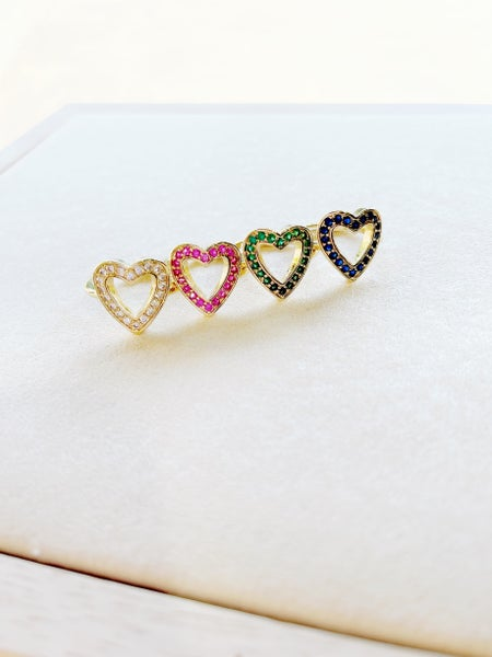 By Alexa Rae Harlow RIng Gold - 4 Colors!