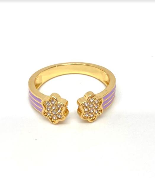 Melania Clara Rainbow Brite Ring - 5 Colors!