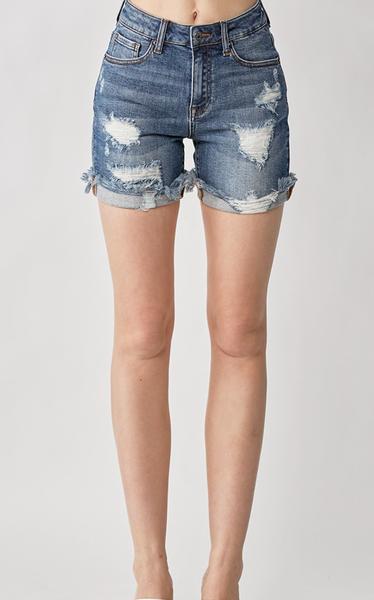 Risen Keep On Dreamin' Denim Shorts