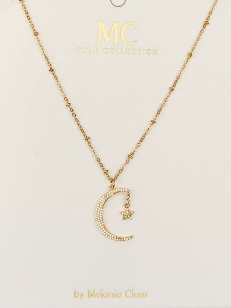 Crescent Moon With Star