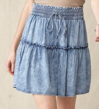 Best Of Her Denim Skirt
