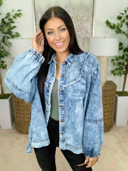 Beautiful Mistakes Denim Jacket
