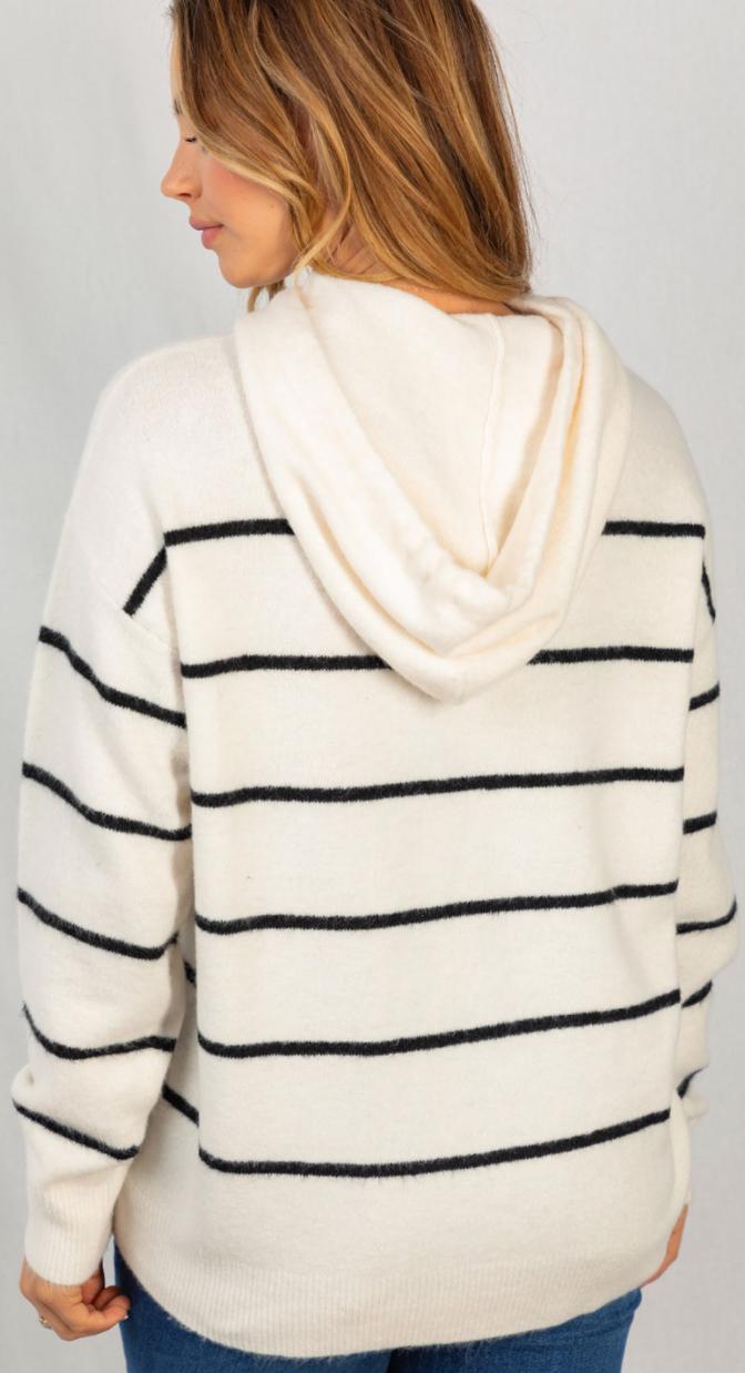 Love My Stripes Hoodie - 2 Colors!