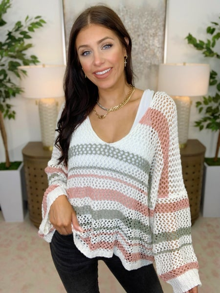 Woven To Perfection Sweater