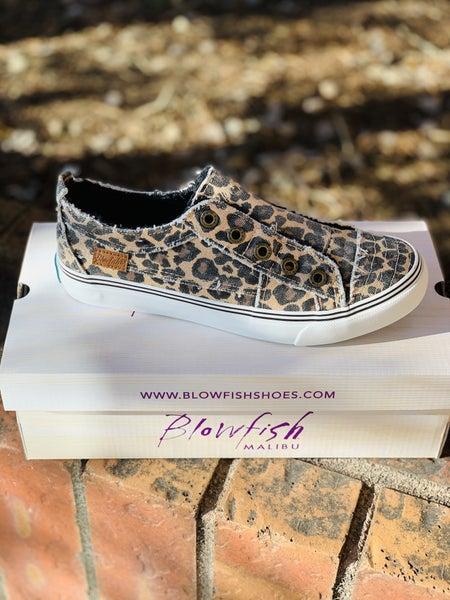 Blowfish Low Top Leopard Sneakers