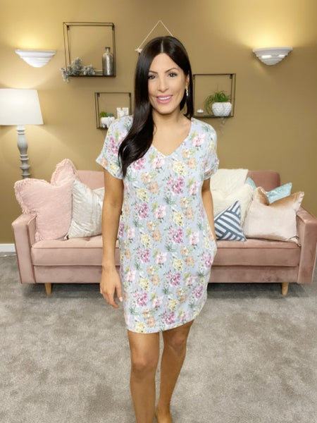 Homebody Floral Dress