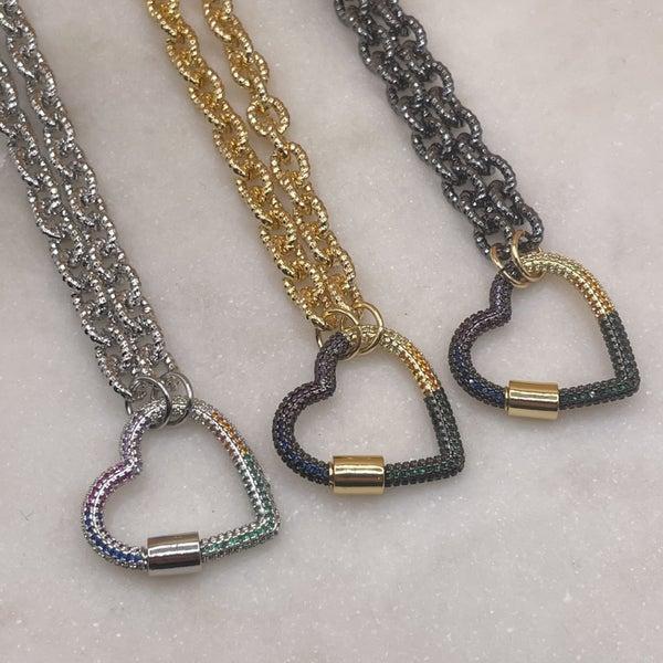By Alexa Rae Love Lock Necklace