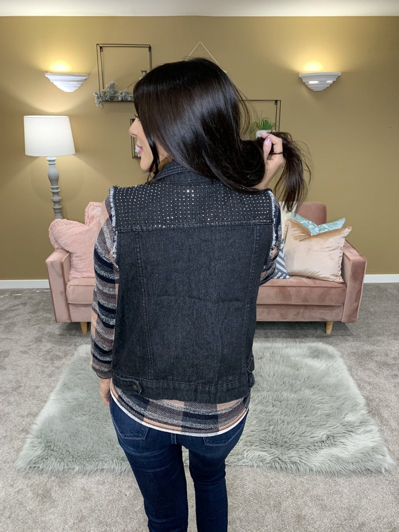 In-Vest In Yourself Studded Vest